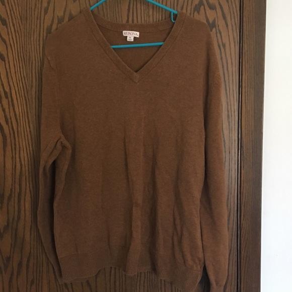 Merona Other - Burnt sienna v-neck sweater